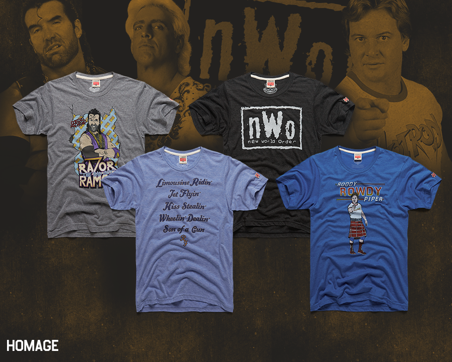 The Blot Says...  The WWE Legends of the Ring 3 T-Shirt Collection ... 573a3b95c