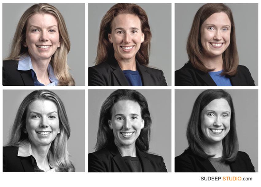 Black White Corporate headshots - SudeepStudio.com Ann Arbor Corporate Headshot photographer