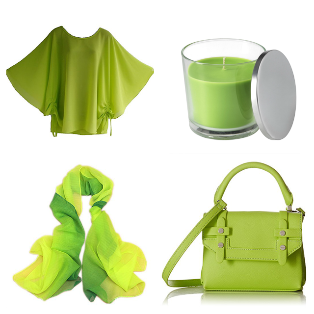 Pantone Color Of The Year 2017: Greenery accessories
