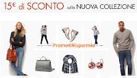 Logo Amazon ti regala 15 euro di sconto sulla Nuova Collezione