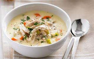 Resep Makanan Chiken Cream Soup yang enak dan lezat