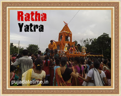 Ratha yatra Date and Time 2019