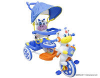 Wimcycle Cow Baby Tricycle