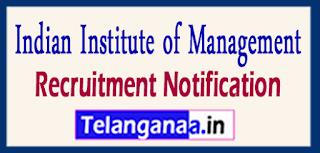 IIM Kozhikode Recruitment Notification 2017 Last Date 15-06-2017