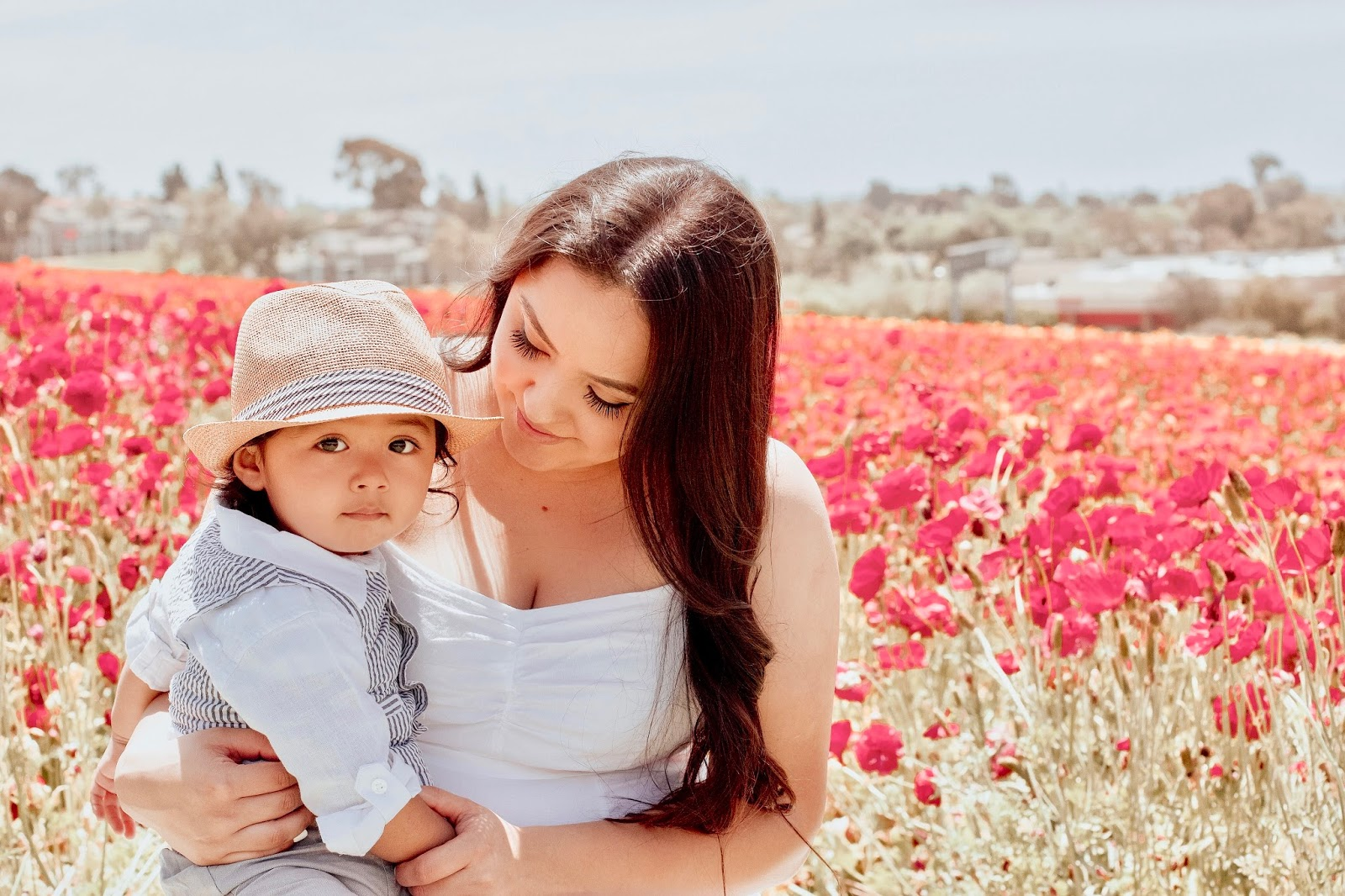 Mother's Day at the Flower Fields
