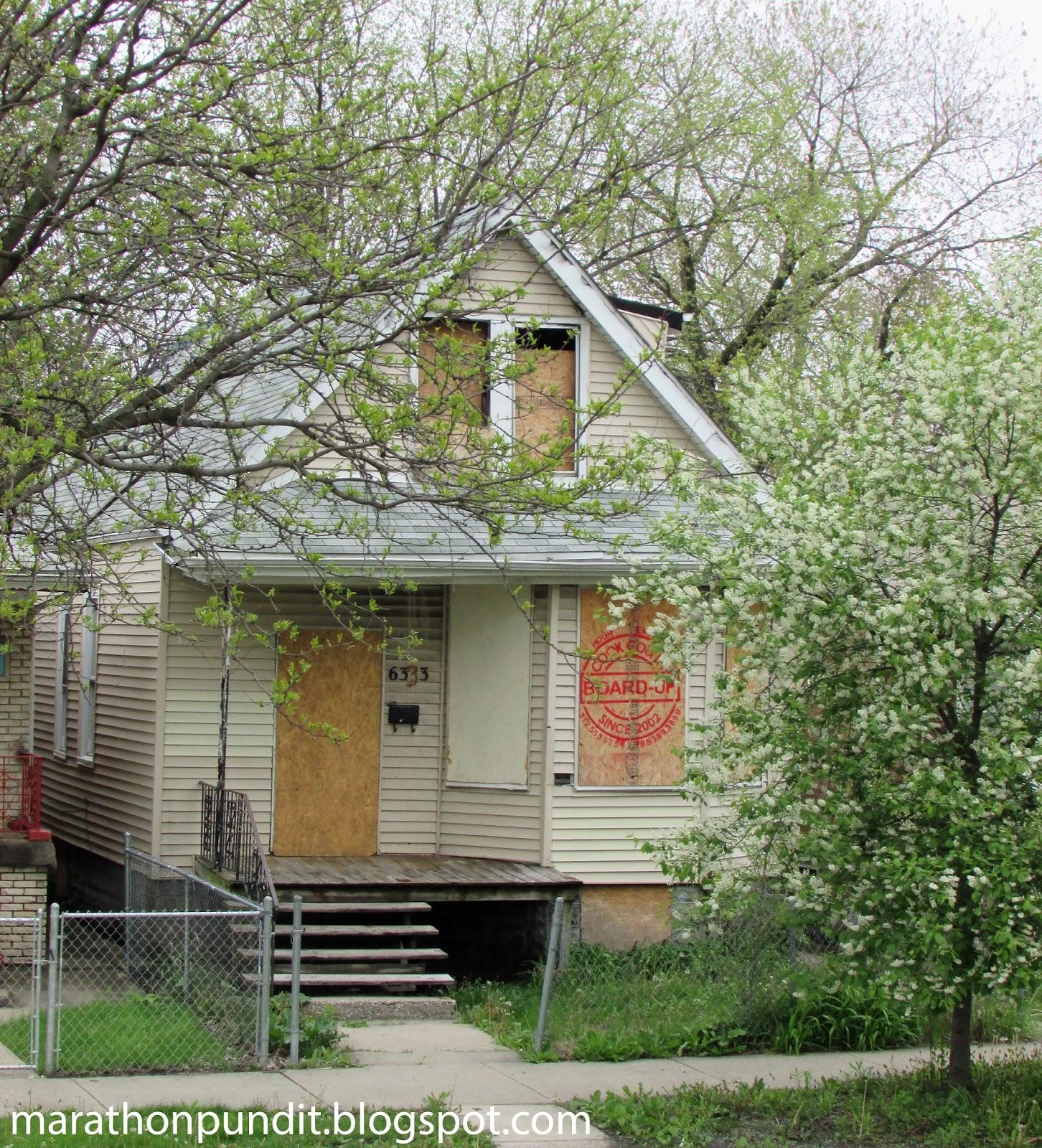 Marathon Pundit: (Photos) The Abandoned Homes Of Chicago's