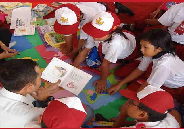 Gerakan Literasi Sekolah (GLS) di SD
