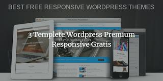 Templete Wordpress Premium Responsive Gratis
