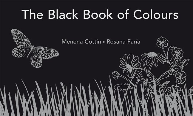 The Black Book of Colours book review and three follow up activities.