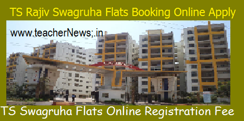 TS Rajiv Swagruha Flats Booking Online Apply Official Website @tsswagruha.cgg.gov.in