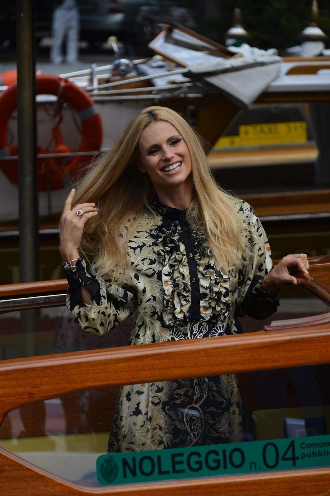 HD Photos Michelle Hunziker Arrives At 73rd Venice Film Festival