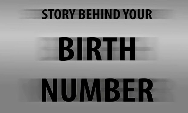 Birth number what it says about you