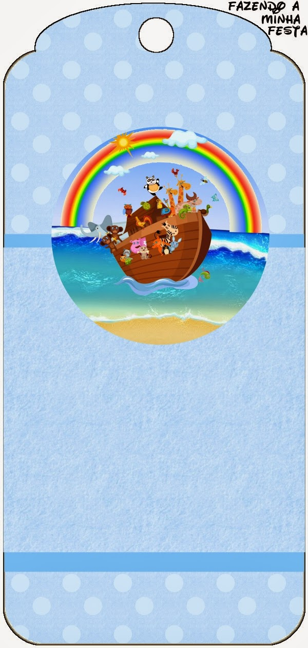 Noah's Ark Free Party Printables.