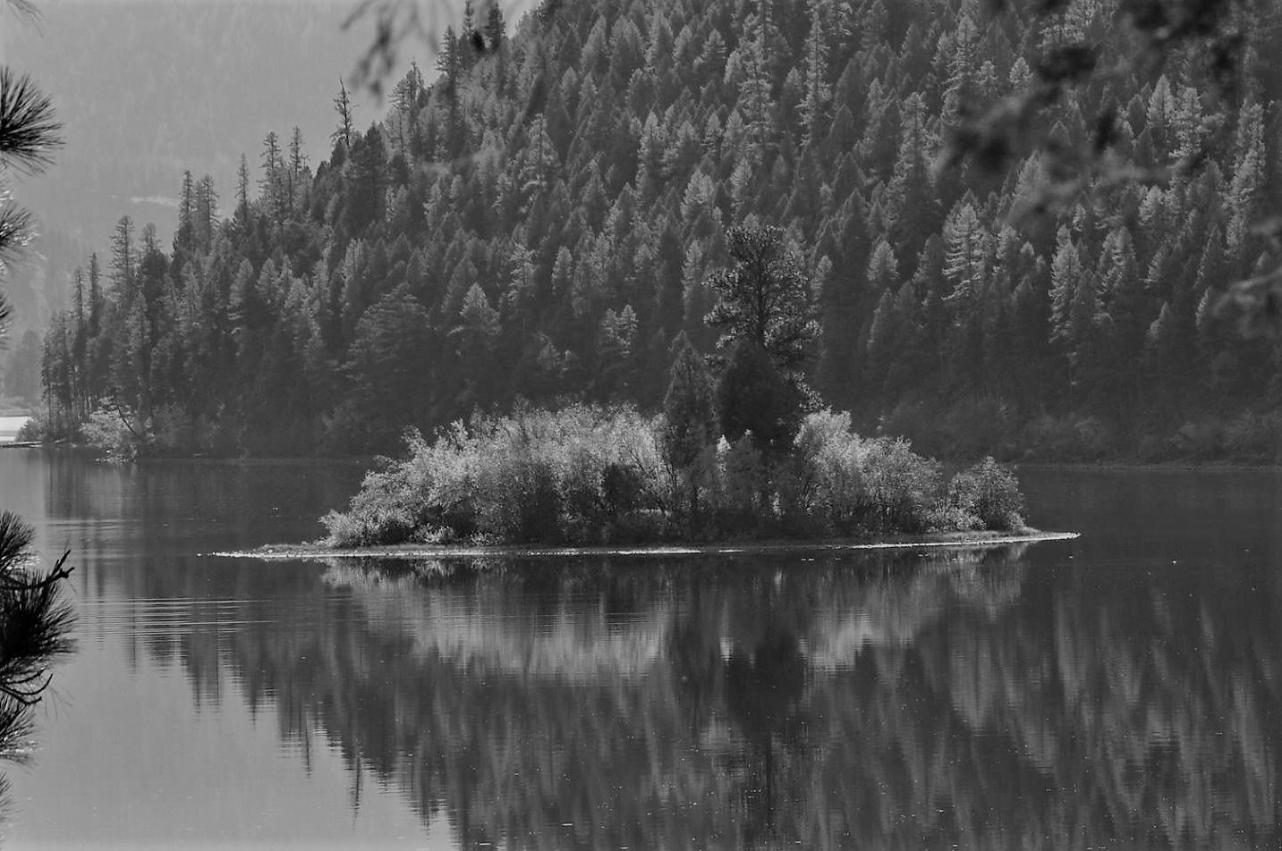 Lake in Grey