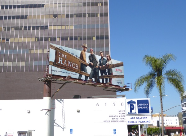 Ranch series billboard