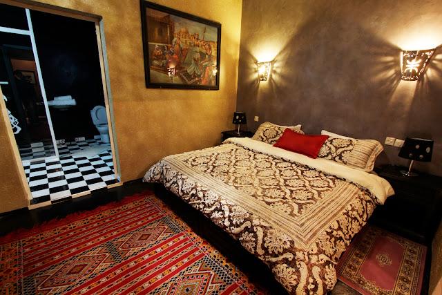 Habitación del Riad Ksar Aylan en Ouarzazate