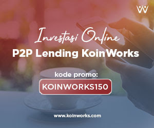 Berinvestasi mulai 100 ribu di KoinWorks