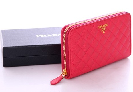 d180807eae44 人気ブランド財布 プラダ 財布 Prada wallet 1M0506 embossed leather 2color red black