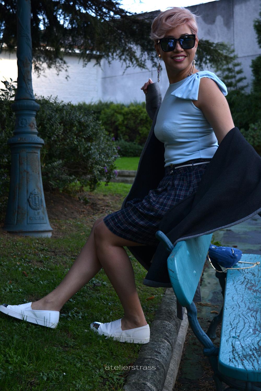 falda con slip on