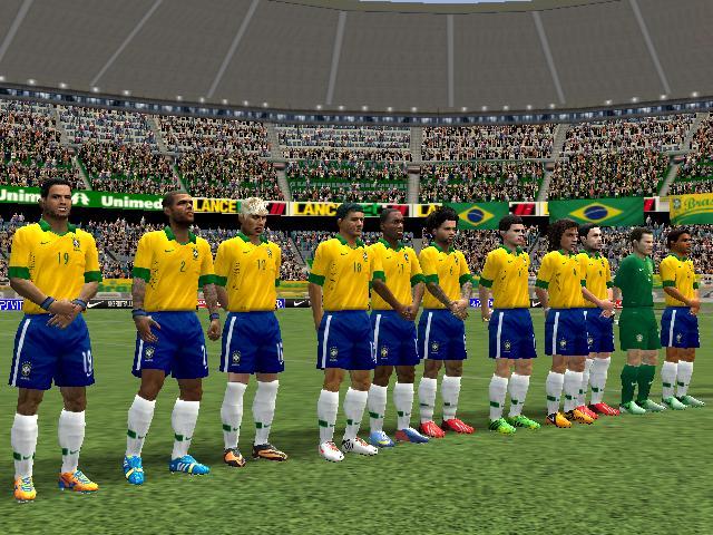 المنتخب البرازيلي 2014 لفيفا 2008,حصريا على موقع ميكانو