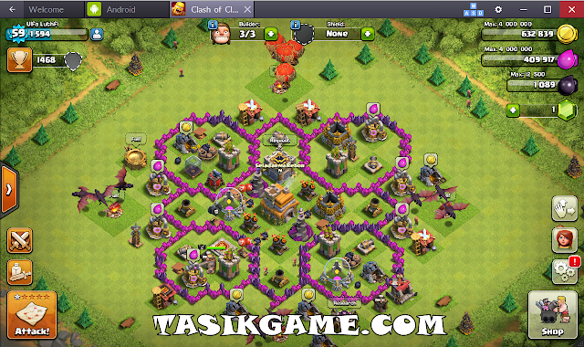 Download Bluestacks untuk Main COC, BBM di PC
