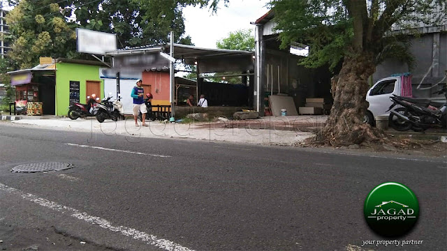 Tanah tepi jalan Tengah Kota Jogja