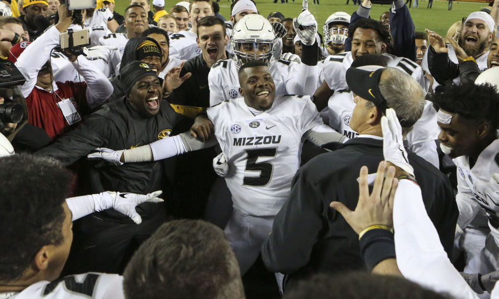 Esquire's Toughest 2015: The University of Missouri Football Team