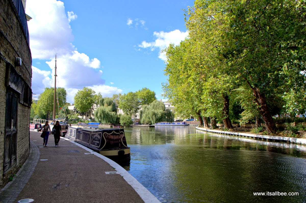 Tours Boats and WALKING Little Venice London Warrick Avenue Paddington