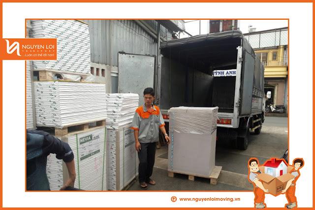 Chuyển nhà bằng xe tải 2 tấn