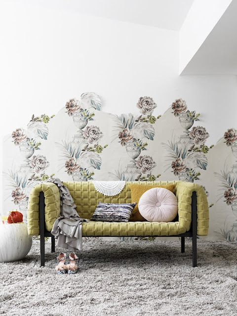 The top home decor trends for 2018 harlow thistle for Home wallpaper trends