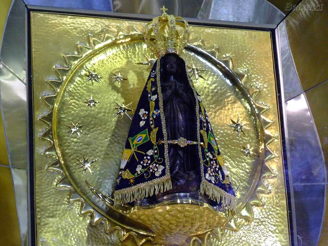 ARTES DA LIVIA: Nossa Senhora Aparecida Padroeira Do