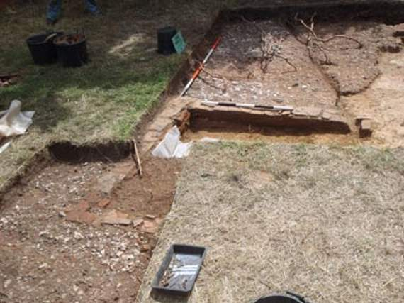 Excavation reveals secrets of Tudor palace at Enfield
