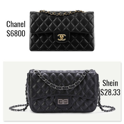 Designer Dupes Look For Less Chanel Classic Flap Reissue Bag