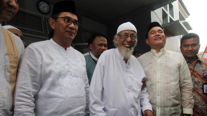 Soal Pembebasan Ustadz Ba'asyir, Yusril Dibilang Tak Koordinasi Dengan Tim Jokowi?