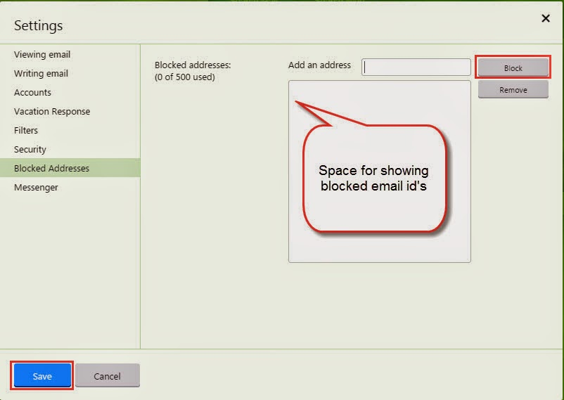 how to block mail on iphone how to block sender in yahoo mail on iphone gmail 18595