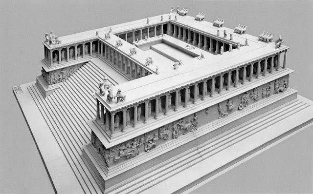 l'altare di Pergamo