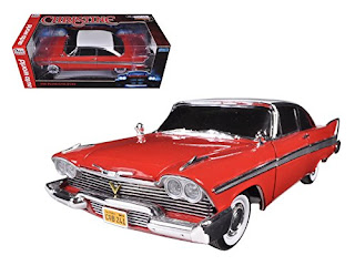 Stephen King's Christine, Red Plymouth Fury, Die Cast Model, Stephen King Store