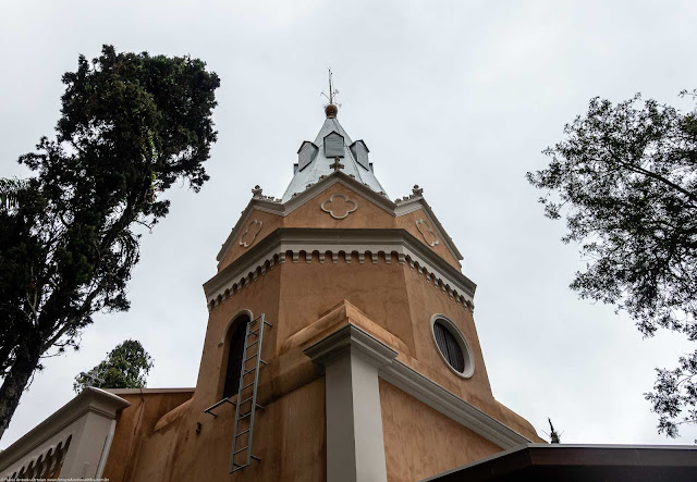 Capela Nossa Senhora da Glória - detalhe da torre