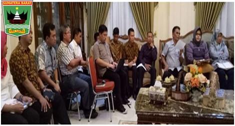Wagub Nasrul Abit : Pembangunan Jalan tol Padang -Sicincin telah digrand breking oleh presiden