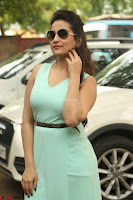 Manjusha in beautiful thin green gown At Jaya Janaki Nayaka le Logo Launch ~  Exclusive 107.JPG