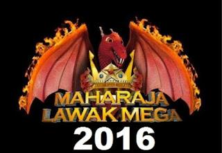 keputusan maharaja lawak mega 2016, MLM 2016,
