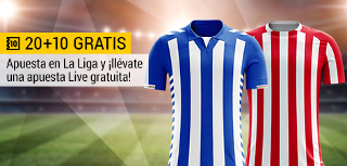 bwin promocion 10 euros Leganés vs Betis 8 mayo