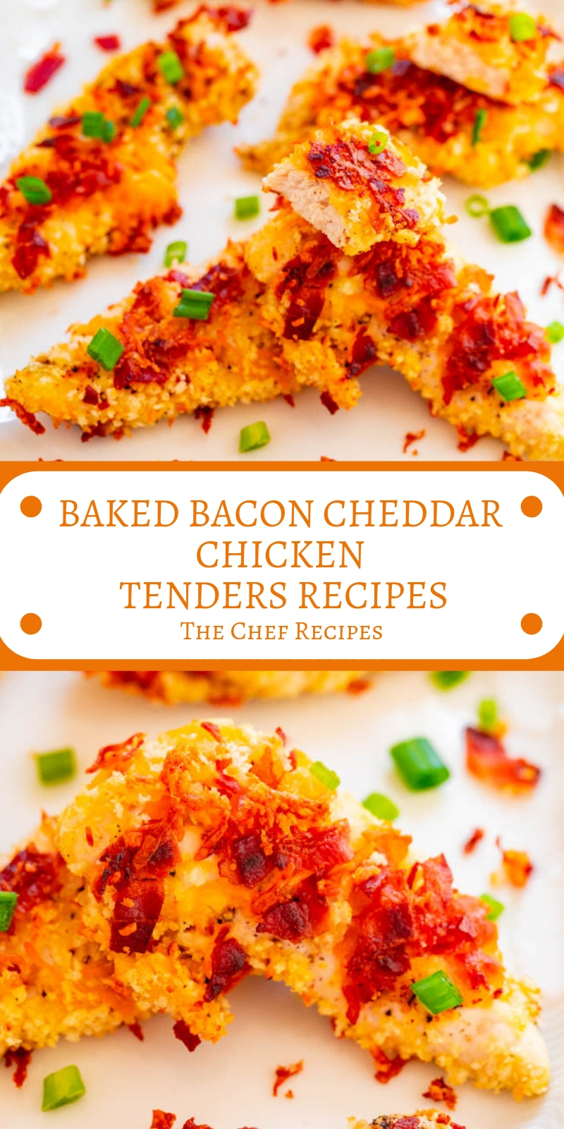 BAKED BACON CHEDDAR CHICKEN TENDERS RECIPES
