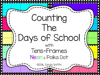 https://www.teacherspayteachers.com/Product/Counting-the-Days-of-School-with-Tens-Frames-1373022