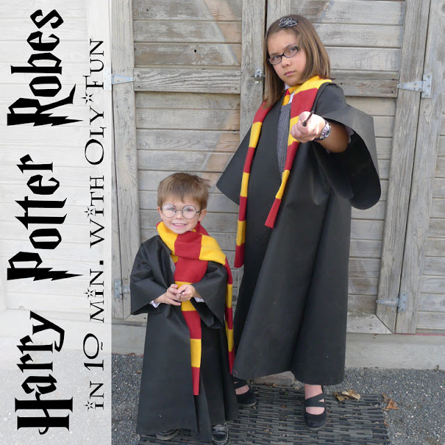 Pieces by Polly  Super Fast and Easy DIY Harry Potter Robe from a T-Shirt  in 15 Minutes - DIY Harry Potter Costume 1ae2be79e