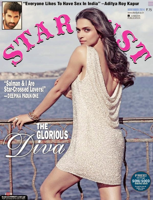 Deepika Padukone, Bollywood Actresses on Indian Magazines November 2014 Covers