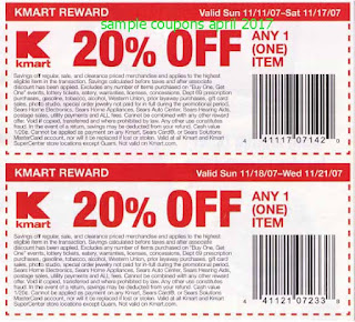 Kmart coupons for april 2017