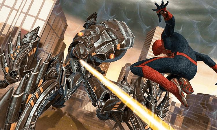 تحميل لعبة سبايدر مان Spider Man الجديدة للكمبيوتر برابط واحد مباشر