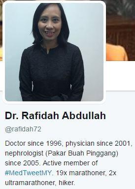dr rafidah buah pinggang