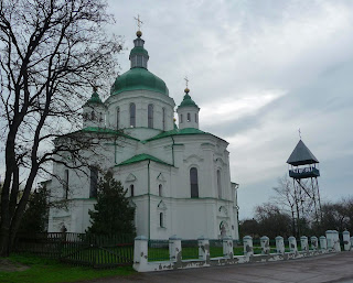 Великие Сорочинцы. Ул. Гоголя. Спасо-Преображенска церковь. 1732 г.